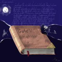Buch, Surreal, Geschichte, Märchen