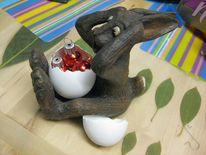 Ostern, Überraschung, Hase, Ei