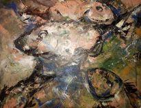 Fische, Acrylmalerei, Malerei,