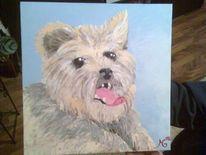 Malerei, Meine bilder, Hund
