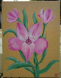 Malerei, Meine bilder, Lilien