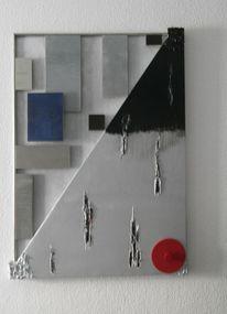Modern, Abstrakt, Metall, Kunsthandwerk