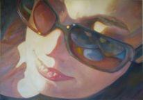 Gemälde, Menschen, Frau, Portrait
