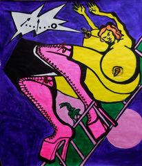 Expressionismus, Grell, Bunt, Bizarr