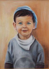 Kinderportrait, Zeichnungen, Junge