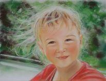 Portrait, Zeichnungen, Mädchen