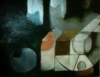 Schwarz weiß, Perspektive, Abstrakt, Geometrische formen