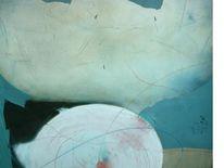 Ölmalerei, Ausschnitt aus, Abstrakt, Malerei