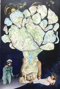Mann, Paar, Mecklenburg, Baum