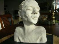 Schulter, Traum, Skulptur, Ton