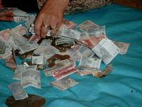 Geld, Hand, Fotografie