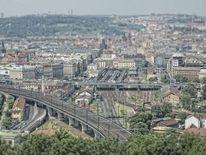 Fotografie, Miniatur, Stadt, Zug
