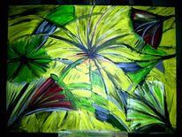 Fantasie, Abstrakt, Abstrakte kunst, Gemälde
