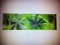Elfenbein, Malerei, Grün, Fantasie