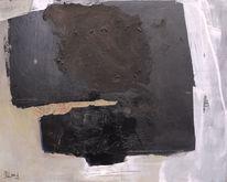 Braun, Grau, Schwarzbraun, Collage