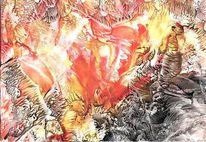 Naturgewalt, Hölle, Feuer, Höhle