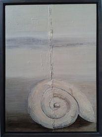 Ammonit, Malerei