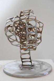 Kunsthandwerk, Metall, Riss