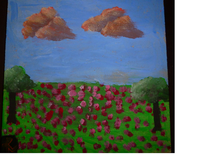 Himmel, Blumen, Ruhig, Baum