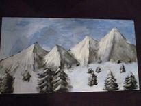 Schnee, Tanne, Kalt, Berge
