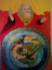 Paradies, Malerei, Sein, Gott