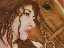 Pferde, Malerei, Reise, Gefühl