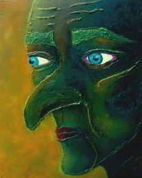 Gesicht, Portrait, Struktur, Kopf
