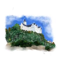 Burg ranis, Malerei, Burg