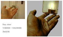 Hand, Kontur, Farben, Linie
