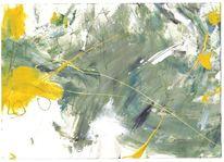 Brief, Acrylmalerei, Malerkuvertüre, Nicht schreiben