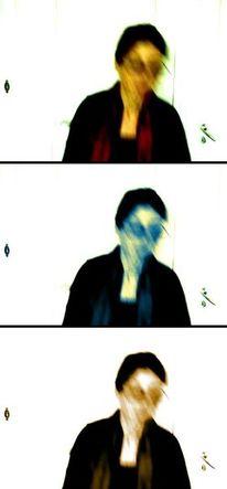 Bewegungseffekt, Unschärfeeffekt, Bewegung, Farbe und licht