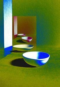 Experimentell, Schatten, Korrektur, Raum