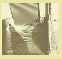 Frau, Schattenfrau, Schatten, Stadt