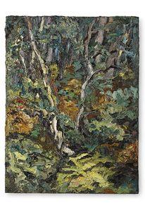 Wald, Birken, Malerei