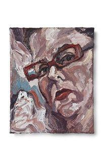 Brille, Rot, Herma bildnis, Malerei