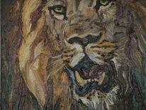 Ölmalerei, Malerei, Löwe