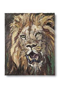 Tiere, Löwe, Wild, Malerei