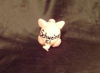 Lustig, Ei, Schwein, Kunsthandwerk