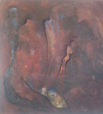 Persönlichkeit, Acrylmalerei, Sehnsucht, Figur