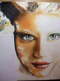 Augen, Bunt, Gesicht, Realismus