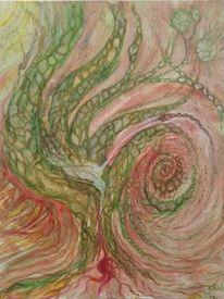Spirituell, Abstrakt, Malerei, Magie