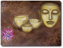 Geist, Glaube, Meditation, Buddha