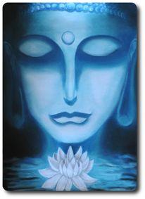 Wasser, Glaube, Buddah, Ruhe