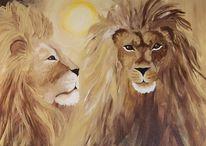 Sonne, Raubtier, König, Katze