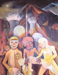 Zeitkritik, Anklage, Malerei, Mystik