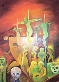 Überirdisch, Gedankenwelt, Mekka, Religion golgotha golgatha