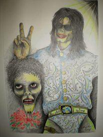 Still alive, Portrait, Michael jackson, Victory