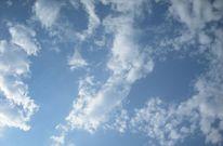 Himmel, Weiß, Wolken, Sonne