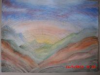 Sonne, Sonnenaufgang, Berge, Landschaft