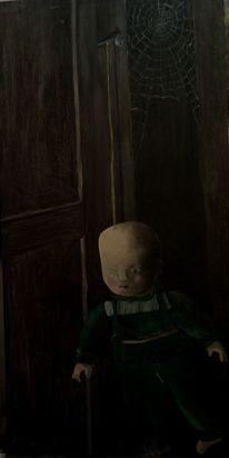 Ölmalerei, Hentsch, Vanitas, Stillleben